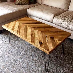 Herringbone Coffee Table by Andrew Abbott | Table, Coffee ...