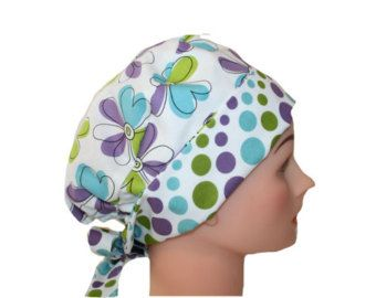 Image Result For Bouffant Surgical Scrub Hat Sewing Pattern Free Instructions