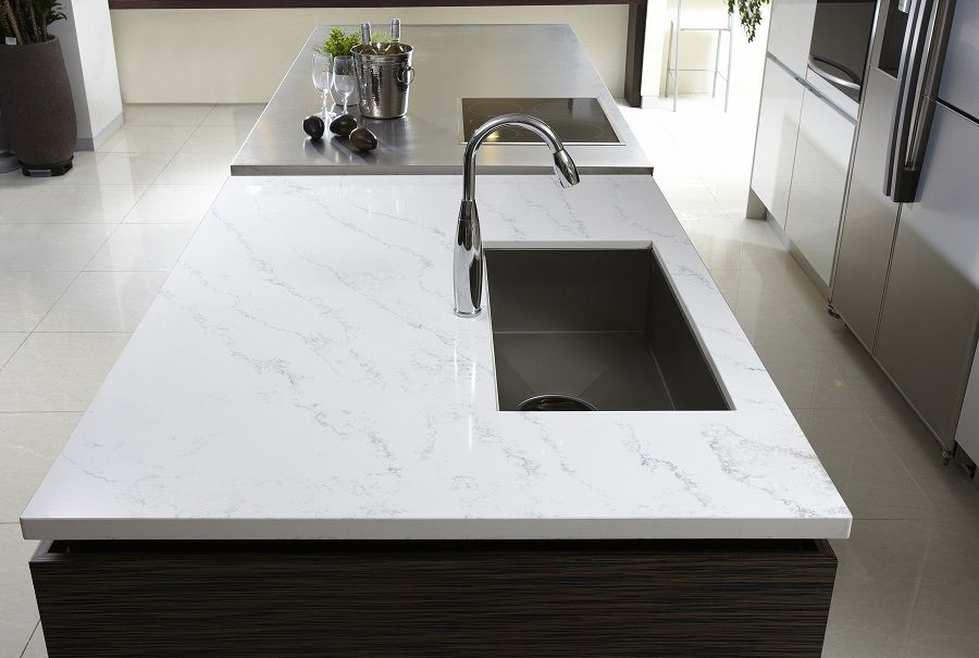 Hanstone Tranquility A Quartz Alternative To Marble