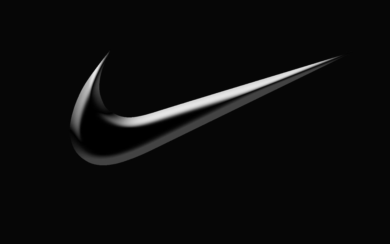 frame the nike symbol: just do it.