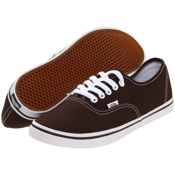 Vans Authentic Lo Pro Skate Shoes ($45) ❤ liked on Polyvore featuring shoes, sneakers, holiday shoes, waffle shoes, vans sneakers, vans footwear and special occasion shoes