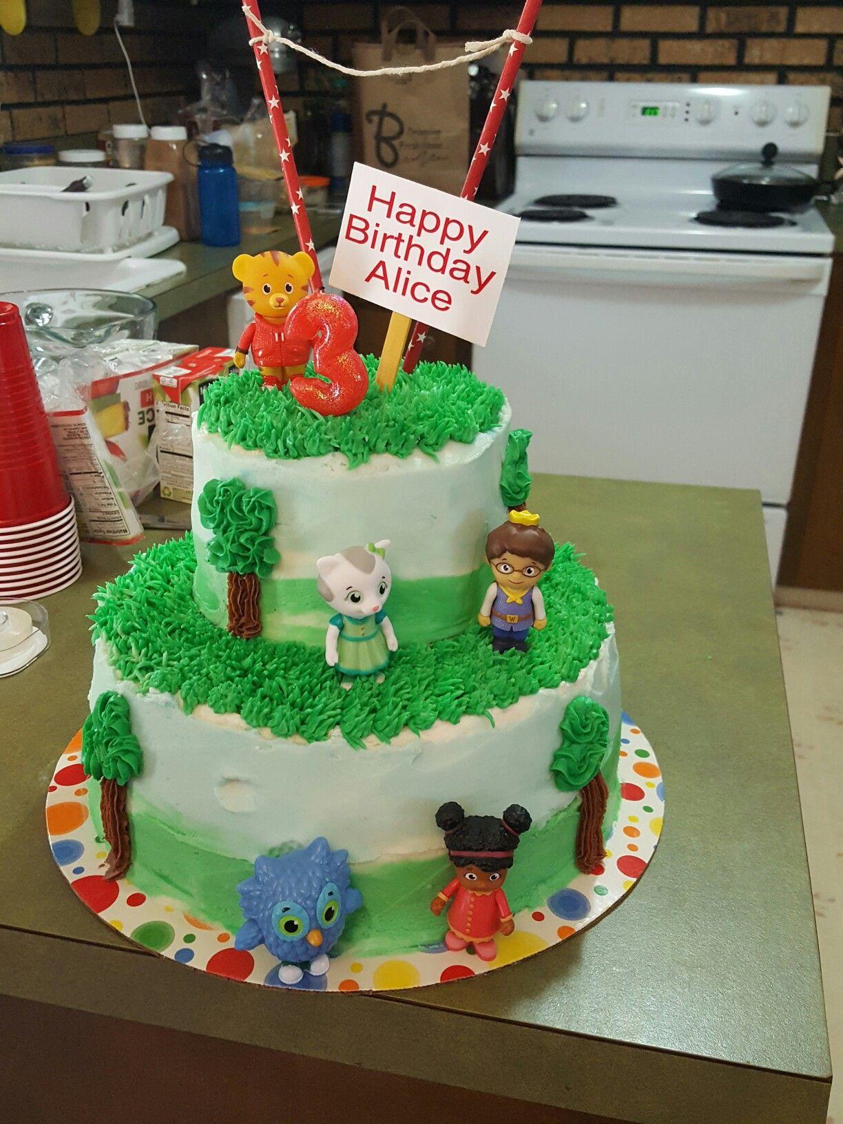 Daniel tiger birthday cake danieltigercake daniel