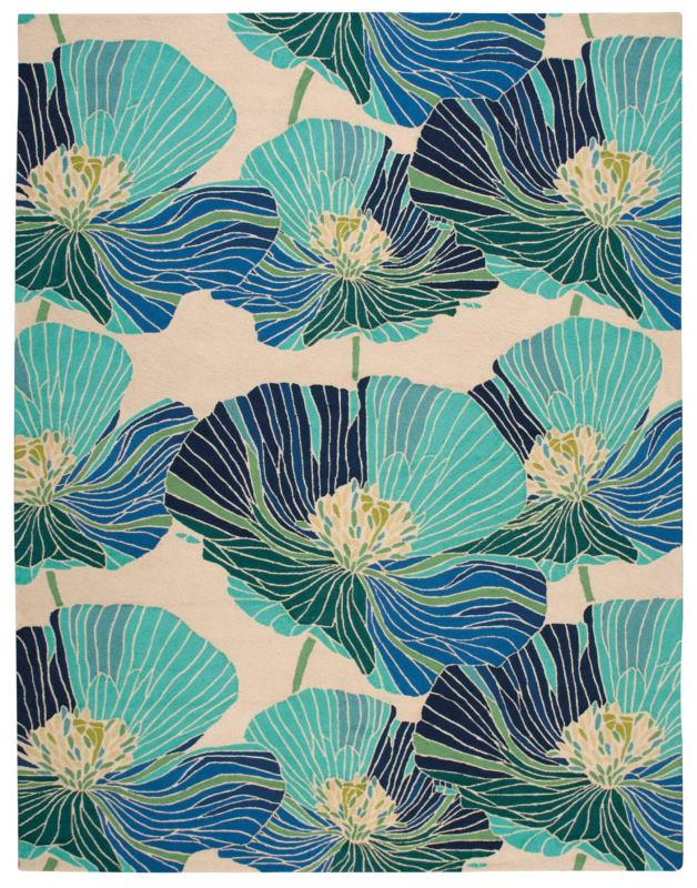Nourison FA24-REC-8X11 | 杭州 | Pattern, Pattern Design, Floral area