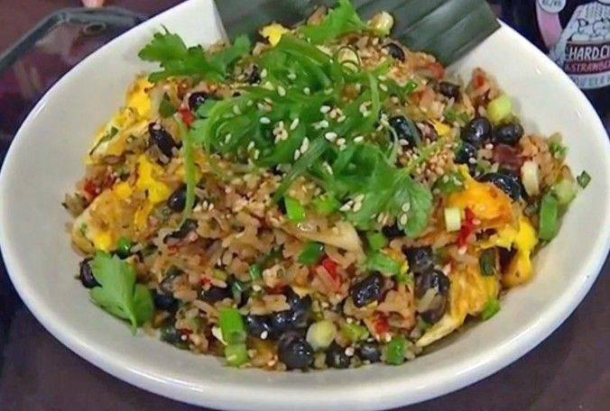 This Cuban rice and bean dish has an added mix of Asian taste to it at El Buda Latin Asian Restaurant in Orlando. (Spectrum News 13) #cubanrice This Cuban rice and bean dish has an added mix of Asian taste to it at El Buda Latin Asian Restaurant in Orlando. (Spectrum News 13) #cubanrice This Cuban rice and bean dish has an added mix of Asian taste to it at El Buda Latin Asian Restaurant in Orlando. (Spectrum News 13) #cubanrice This Cuban rice and bean dish has an added mix of Asian taste to it #cubanrice