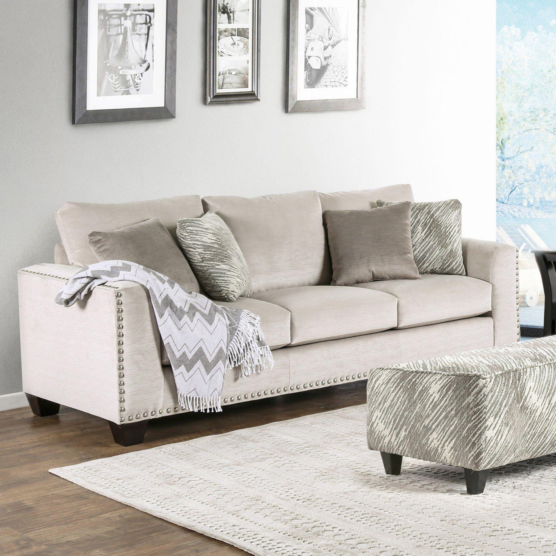 Furniture Of America Fiona Contemporary Sofa Furniture