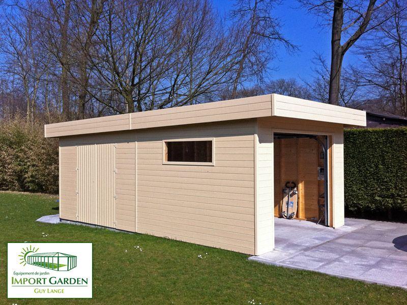Un #garage En Bois, Moderne Et #design ? Découvrez Nos Garages à Toit Grandes Images