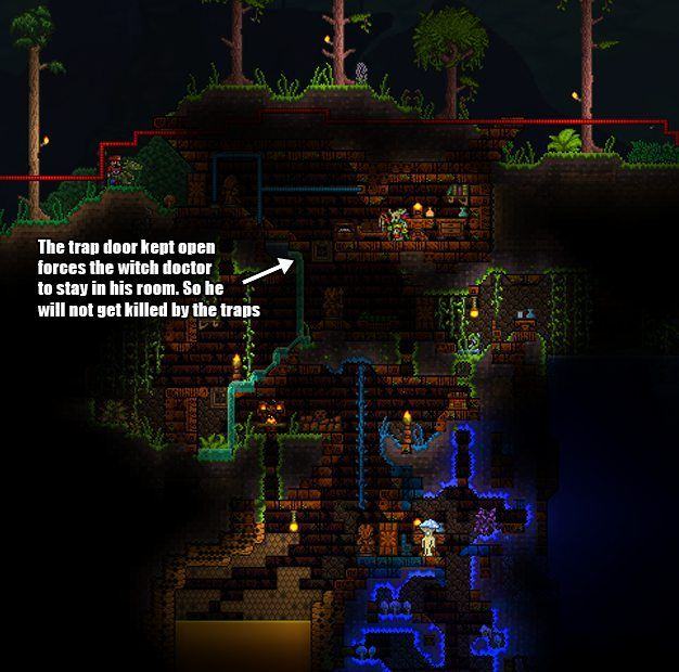 A guide to wiring and base defense | Wow! Terraria Builds