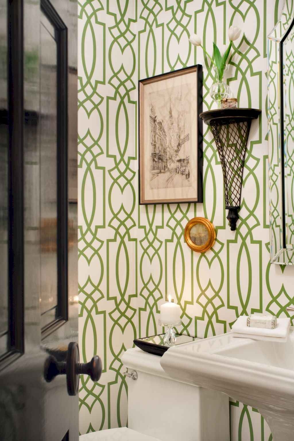 Marvelous Small Powder Room Ideas in 2020 Bathroom