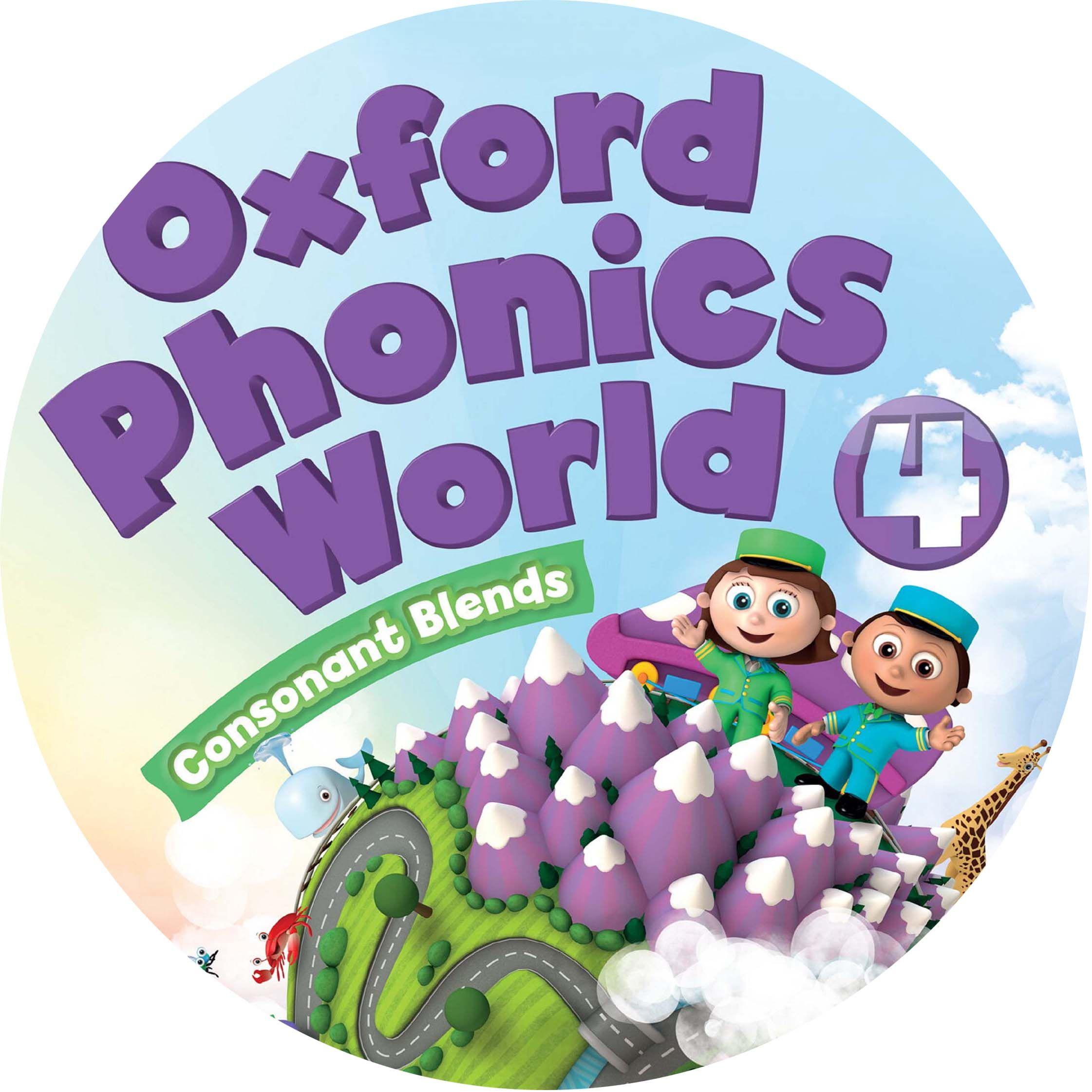 Oxford Phonics World 4 Class Audio CD2 | sara | Phonics