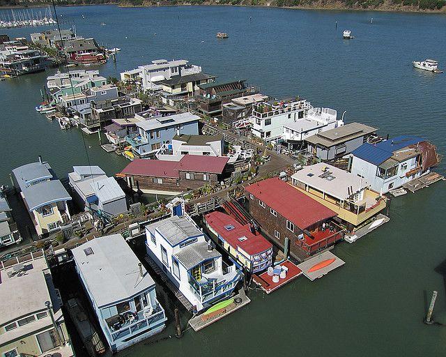 Houseboats Sausalito California