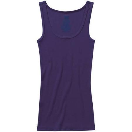8b0d74977 Faded Glory Women s Essential Rib Tank - Walmart.com