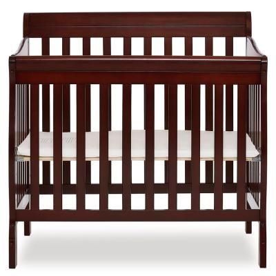 Dream On Me Aden Espresso 4 In 1 Convertible Mini Crib 628 E Best Baby Cribs Mini Crib Cribs