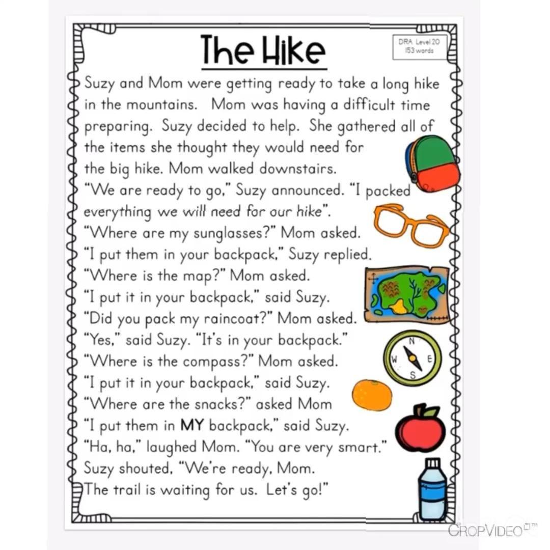 Digital Reading Comprehension Passages Second Grade Video Reading Comprehension Reading Comprehension Passages Comprehension Passage [ 1080 x 1080 Pixel ]