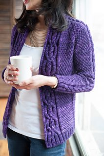 Chimney Fire Sweater - available on Ravelry for $7 - Seen at Stitches West. Lovely.