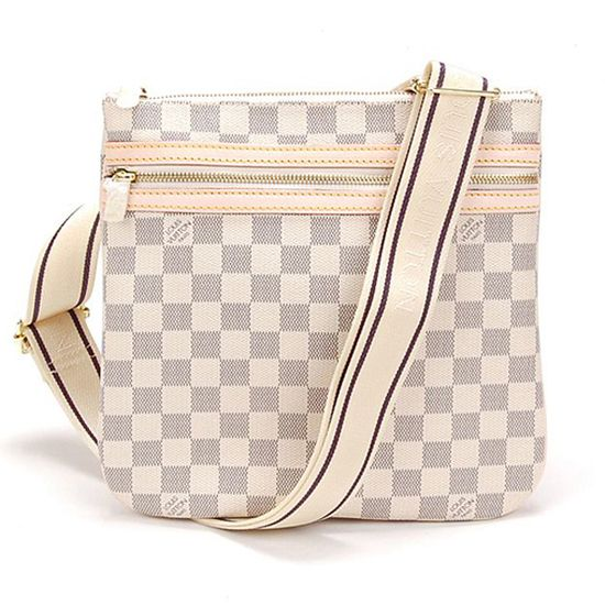 Louis Vuitton N51112 Pochette Bosphore Crossbody Bag Damier Azur Canvas 978211afd5ccd