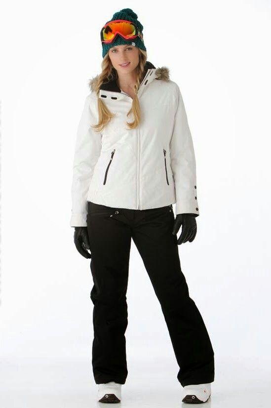 7e3a4ec2d Morgan is wearing a white ski jacket; she's also wearin…   Sheldon C ...