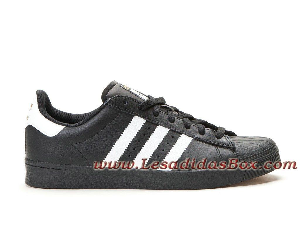 Femme Vulc Adv D68719 Homme Noirblanc Chaussures Adidas Superstar ynOm0vN8w