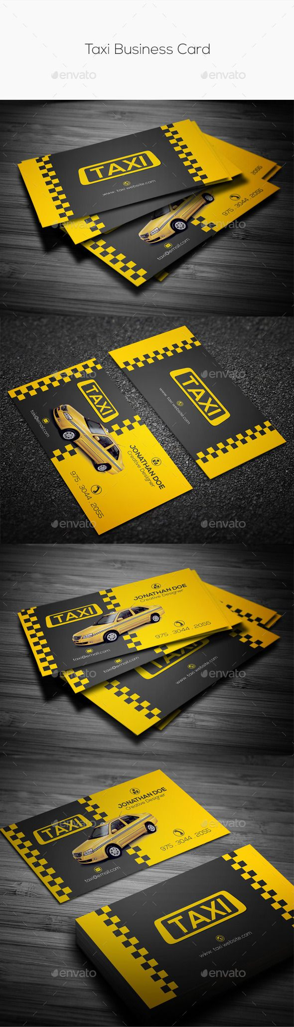 Taxi business card business cards business and card templates taxi business card industry specific business cards magicingreecefo Gallery