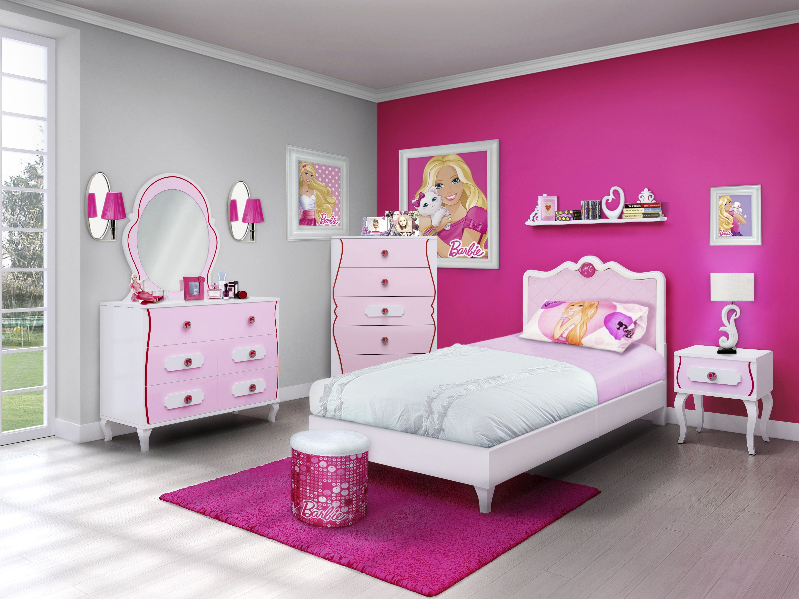 Dormitorio Barbie Barbie Bedroom Girls Room Decorate Decorar Cuarto Niña