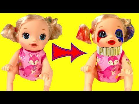 Baby Alive Becomes Harley Quinn - DIY Face Paint Halloween Tutorial - https://t.co/Wrcs6Y1RET  - #Uncategorized https://t.co/osB8YDdczD