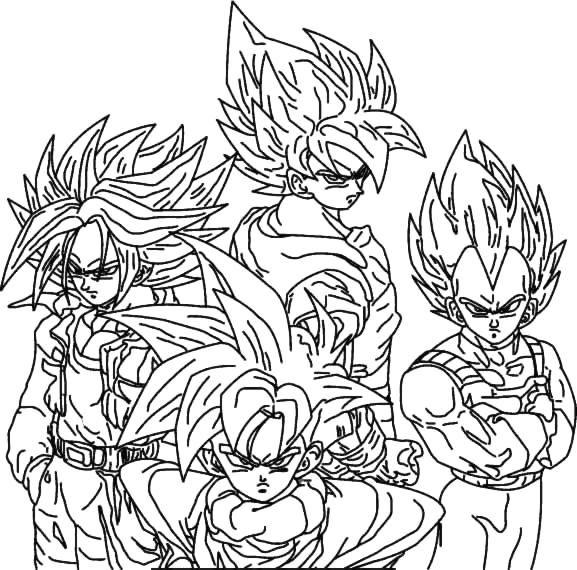 Coloriage 29 Dragon Ball