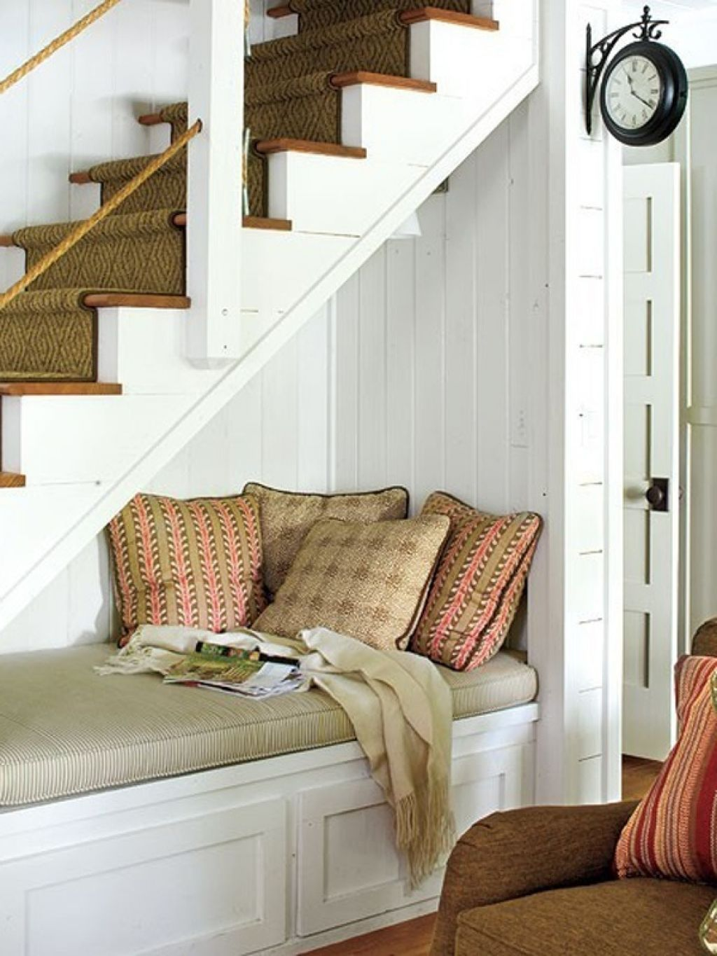 Couch Under Stairs Room Under Stairs Under Stairs Nook Stair Nook