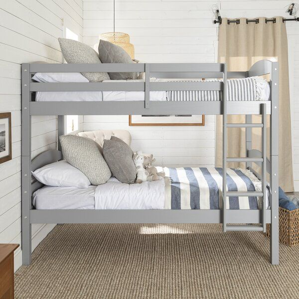 Viv Rae Abby Twin Over Twin Bunk Bed Reviews Wayfair
