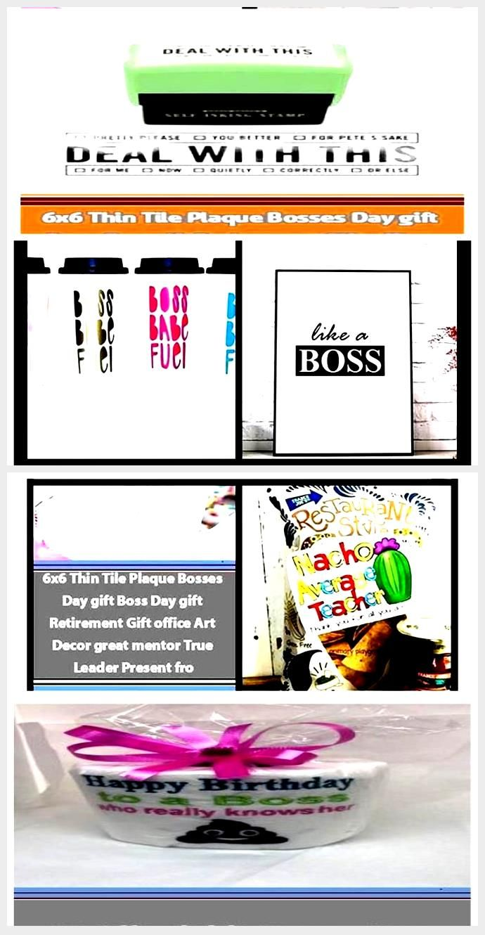 15 Affordable Bosses Day Gift Ideas Need a gift for your boss on Boss's Day? Cli...