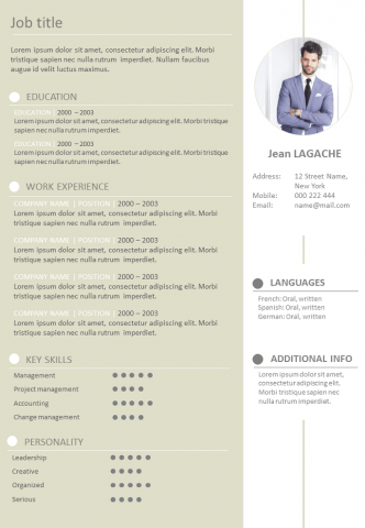 Pin By William Jackson On Resume Curriculum Vitae How To Memorize Things Recruitment Resume