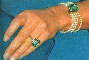 The Aquamarine Ring And Bracelet Set Diana Jewels
