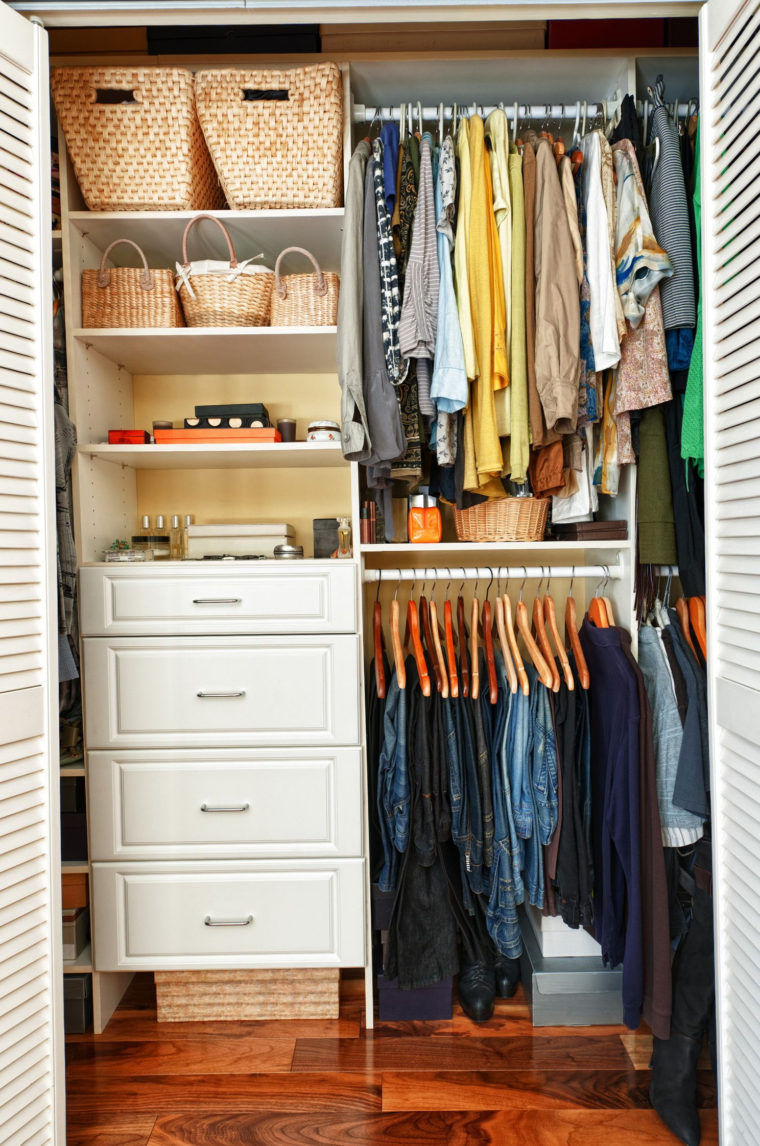 25 Amazing Closet Organization Ideas Kleine Schlafzimmer