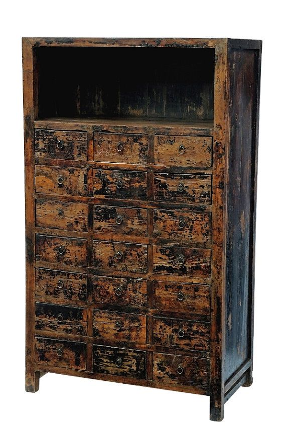 Awesome Antique Chinese Apothecary Cabinet With 21 Drawers By Interior Design Ideas Grebswwsoteloinfo