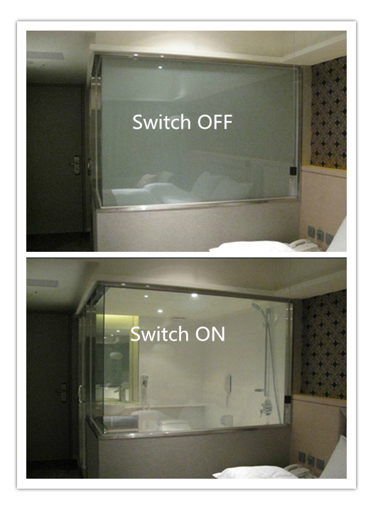 LCD Smart Glass balances perfectly between stylish glass