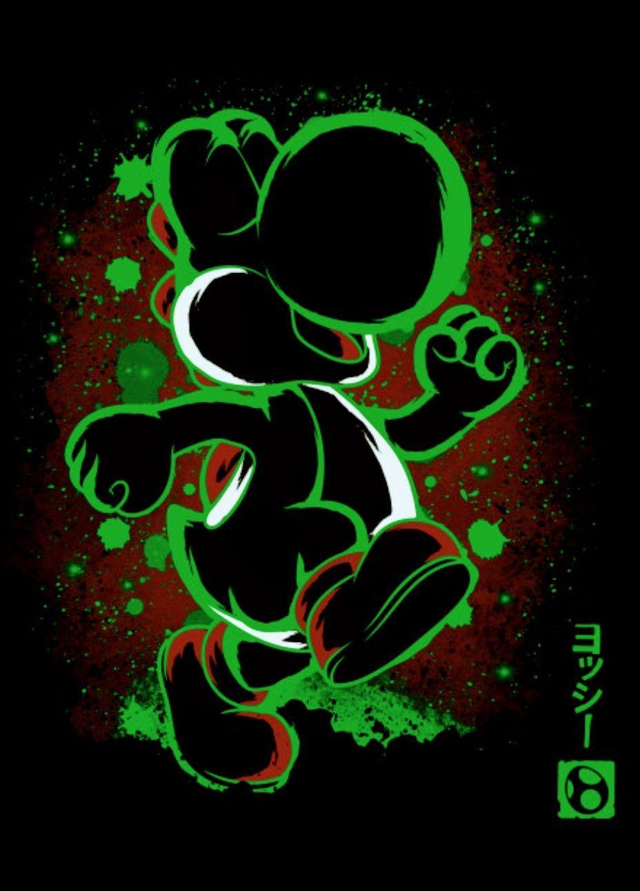 Yoshi, Super Mario World – Graffiti World