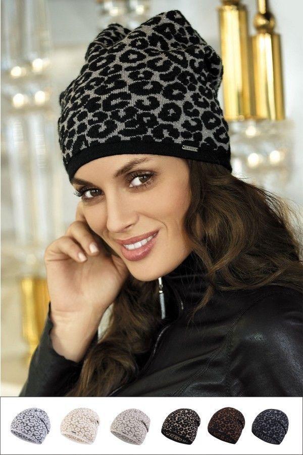 9e64afa7690 Bonnet chapeau Femme Mode léopard chaud laine KLER KAMEA qualité ...