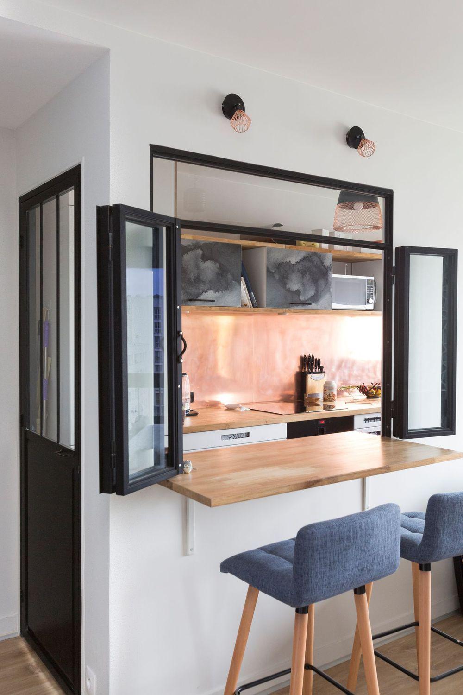 cuisine avec verri re pinterest comme les autres. Black Bedroom Furniture Sets. Home Design Ideas