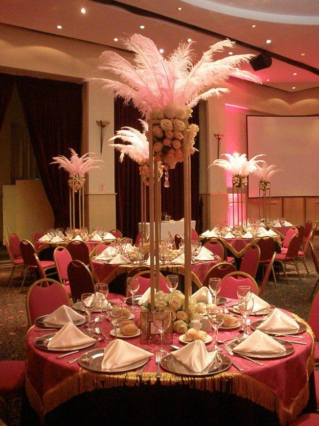 Decoracion especial paris flores y plumas par s for Decoracion xv anos paris