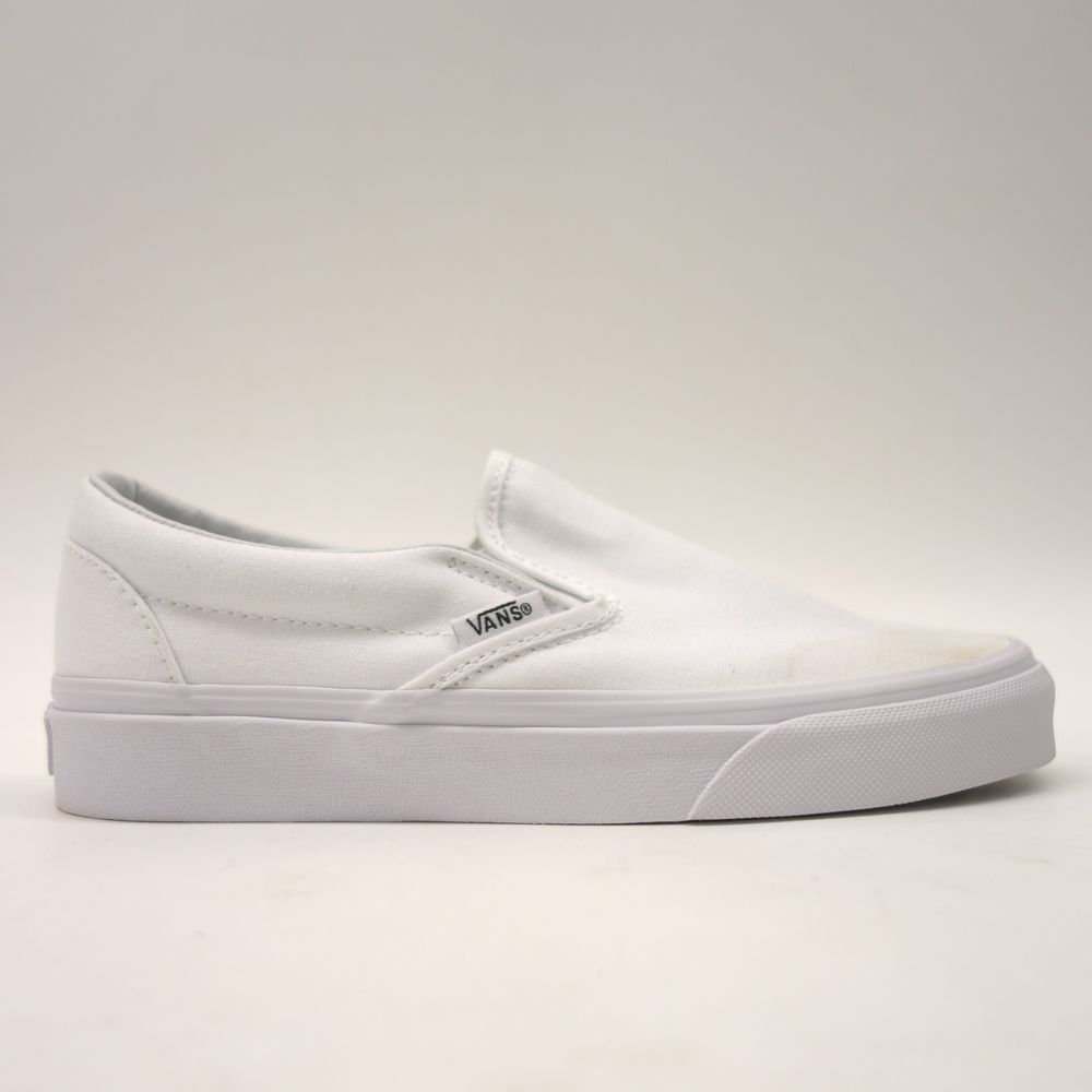 New Vans Womens True White Classic Slip