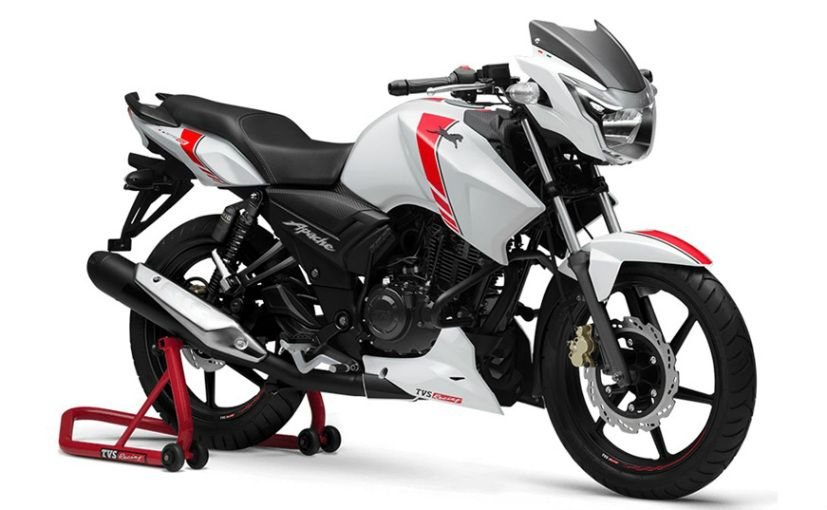 Tvs Apache Rtr 160 Race Edition Launched Prices Start At Rs