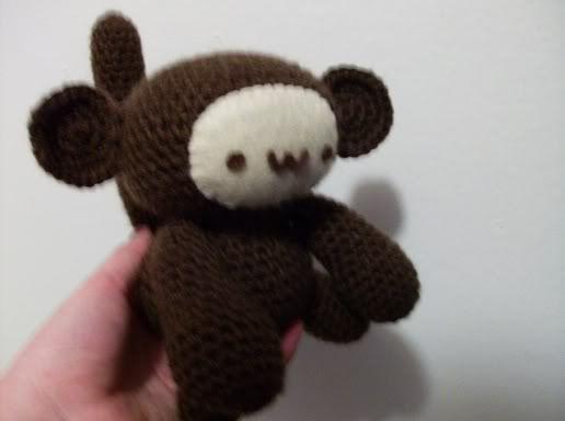 Free Amigurumi Monkey Pattern By Stitch Love Free Monkey Crochet