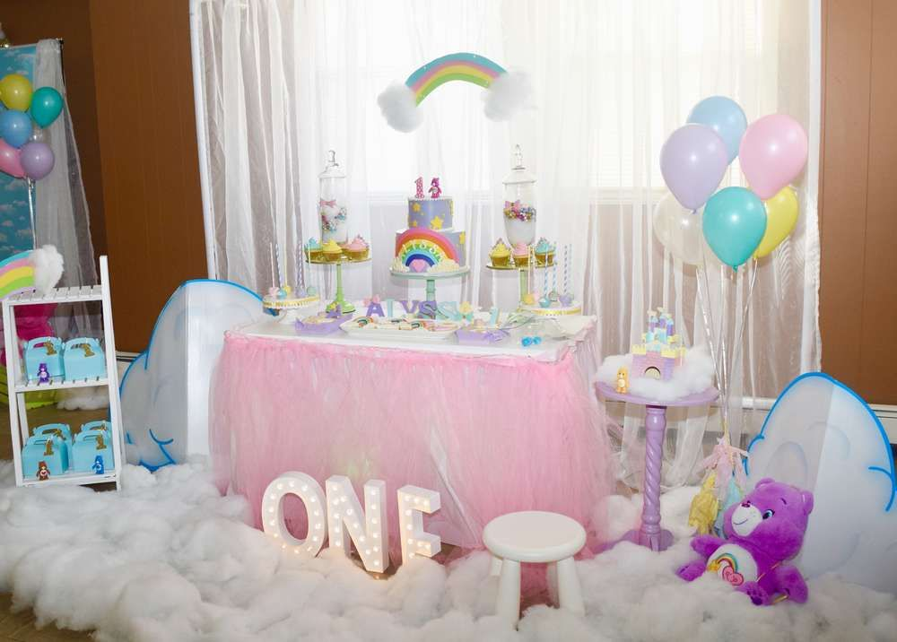 1st Birthday Party Ideas.Care Bears Birthday Party Ideas Photo 1 Of 12 Catch My