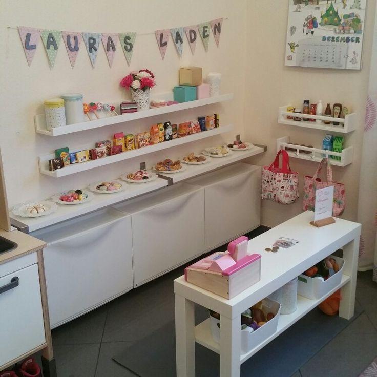 #Kaufladen #Kinderzimmer #Ikea #Ikeahack #Kids #Mädchen #Spielzeug #DIY #Home #Family #kinderzimmermädchen