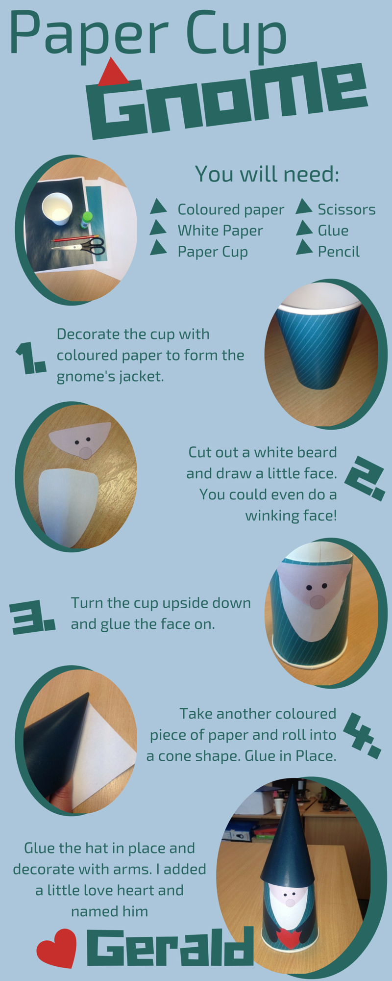 How to guide paper cup gnome papercup crafts howtoguide 1 how to guide paper cup gnome papercup crafts howtoguide jeuxipadfo Image collections