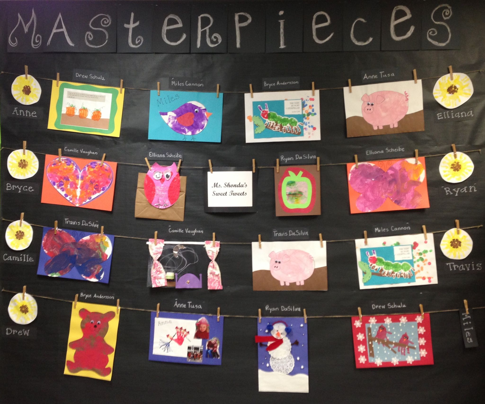 Bulletin Board Display Ideas For Art
