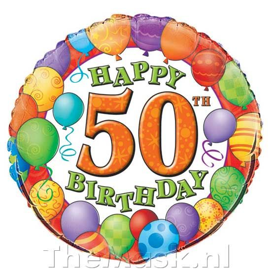 ballon 50 jaar 53083 jpg 550 550 greetings for all occasions rh pinterest com