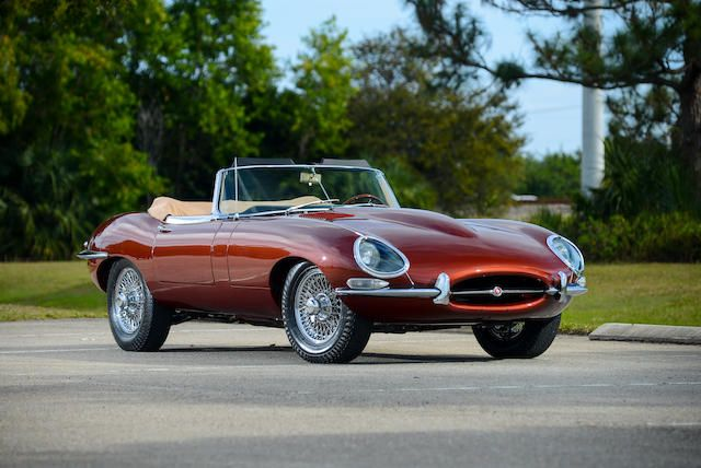<b>1966 JAGUAR E-TYPE SERIES 1 4.2 ROADSTER  </b><br />Chassis no. 1E13415 <br />Engine no. 7E9990-9