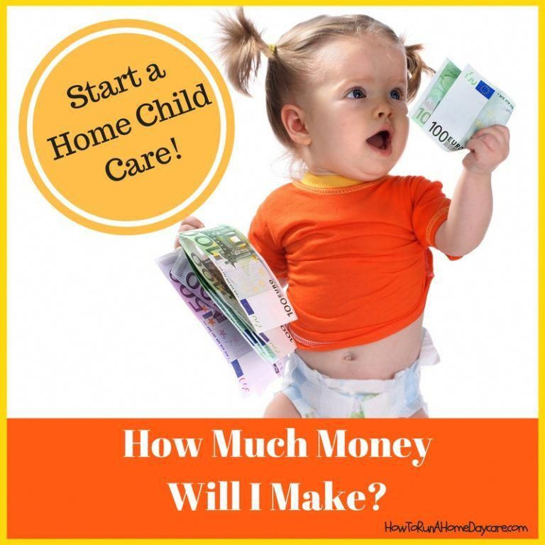 How Much Money Will I Make Running A Home Daycare