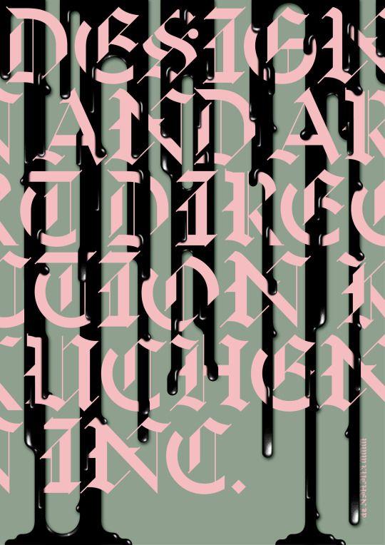 House ad poster「DESIGN AND ARTDIRECTION KucHen Kuchen, Ads - next line küchen