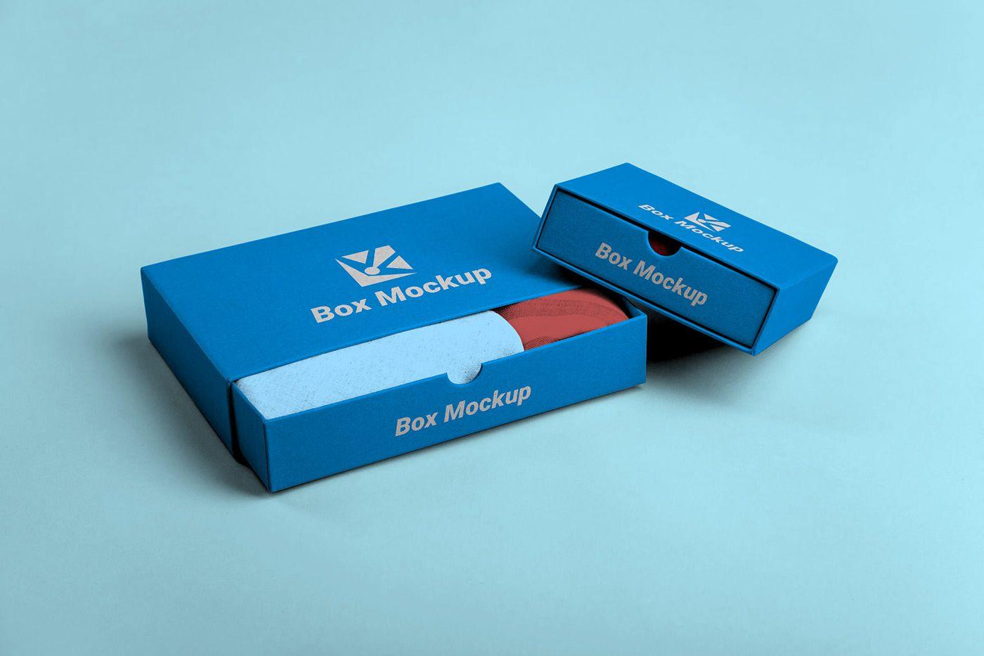 Download Free Box Packaging Mockup Box Mockup Packaging Mockup Free Packaging Mockup
