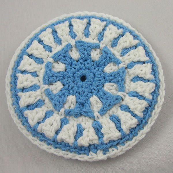 Tumbledown Trivet - A free Crochet pattern from jpfun.com. | Cute ...